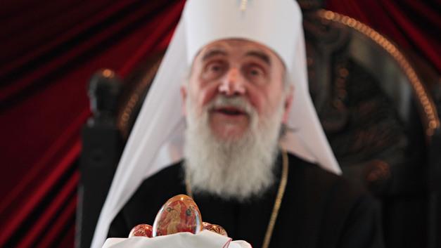 Порошенко бьется за автокефалию: «Миротворец» записал Патриарха Иринея во враги Украины