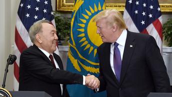 Назарбаев напомнил Трампу о необходимости развития отношений с партнерами