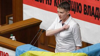 Савченко и Турчинов устроили рукопашную вокруг закона о реинтеграции Донбасса