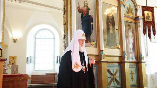 Патриарх Кирилл в годовщину расстрела Николая II проводит Божественную литургию в Екатеринбурге