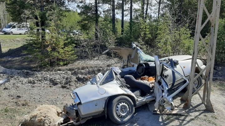 Был без прав... погиб ребенок: в Кургане завели уголовное дело на водителя Урала