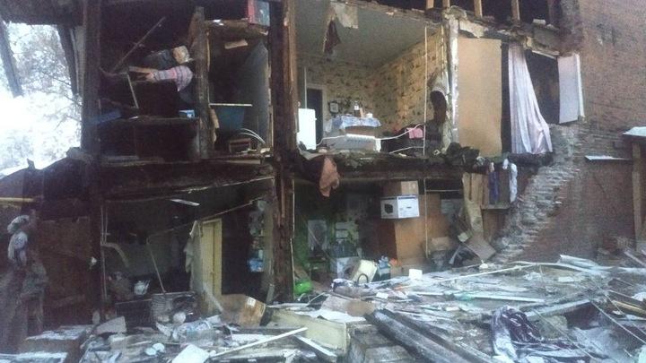 В Самаре обрушился старинный жилой дом: СКР начал проверку