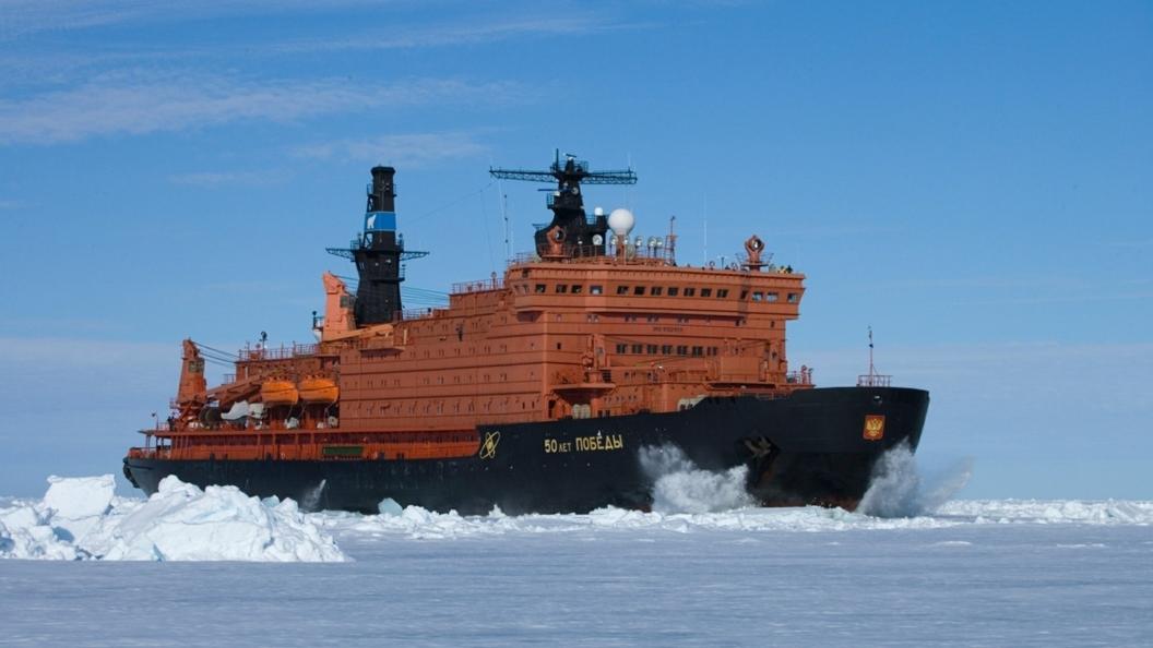 Стала известна дата спуска на воду первого атомного ледокола Сибирь