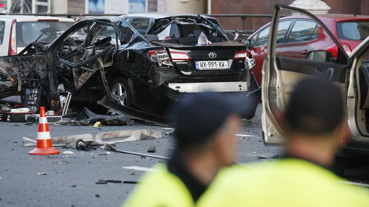 Известная модель Dior пострадала при взрыве авто в центре Киева