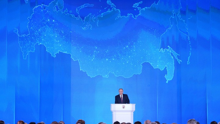 Американец назвал рассказ Путина о супероружии диснеевским фильмом