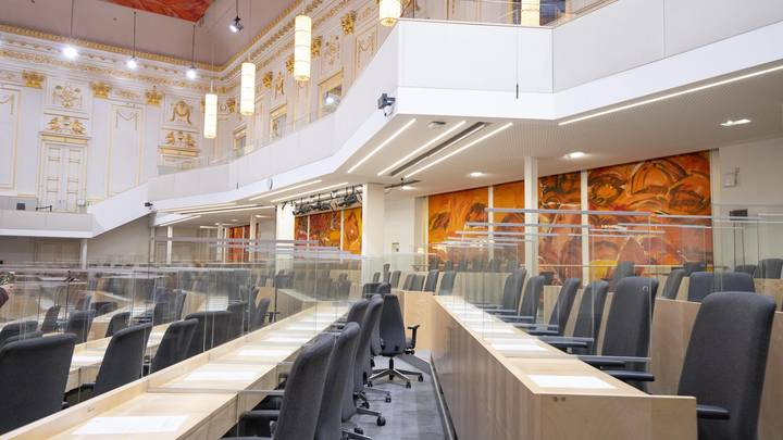 Обморок депутата в парламенте Австрии вызвал подозрения: Сделала прививку