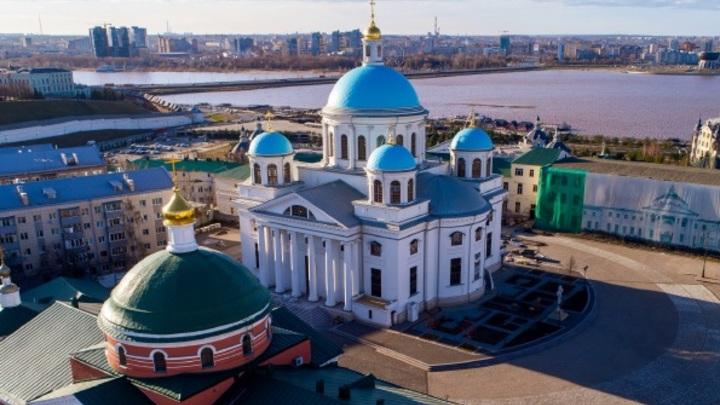 Патриарх Кирилл прибыл в Казань для освящениясобораКазанской иконы Божией Матери