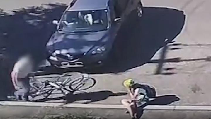 Помог встать и скрылся: полиция нашла сбившего 15-летнюю читинку водителя