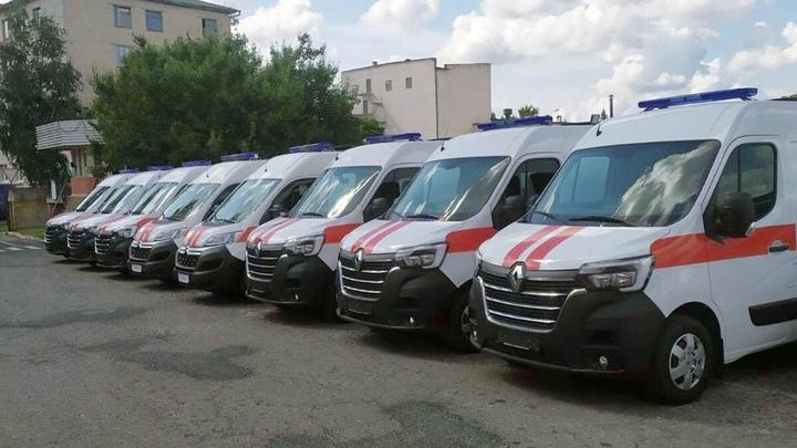 В Бресте обновляют автопарк автомобилей скорой медицинской помощи