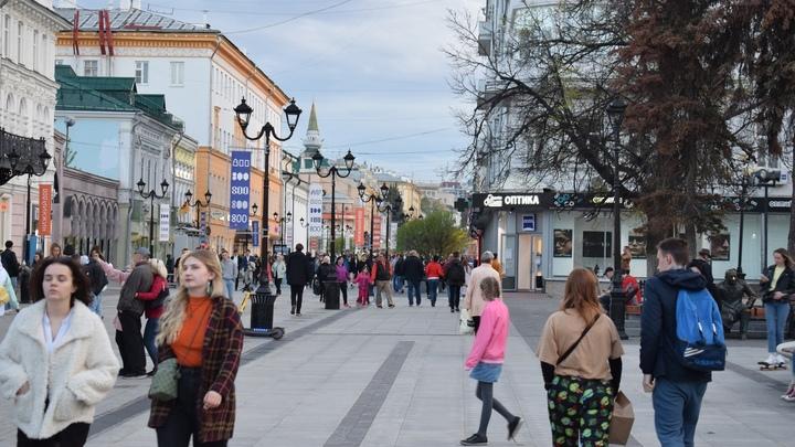В Нижнем Новгороде на улице Большой Покровской появится кинотеатр под открытым небом