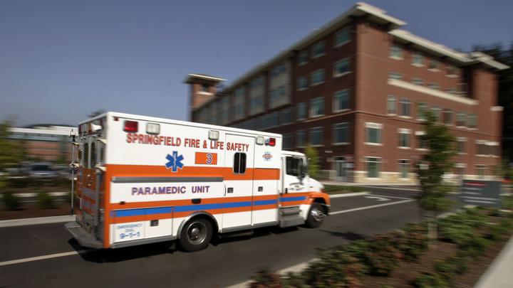 В США из-за неловкой парковки девушка упала с седьмого этажа стоянки