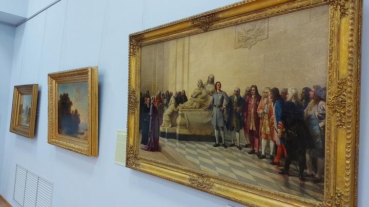 В Арзамасе открылась первая выставка художников-передвижников