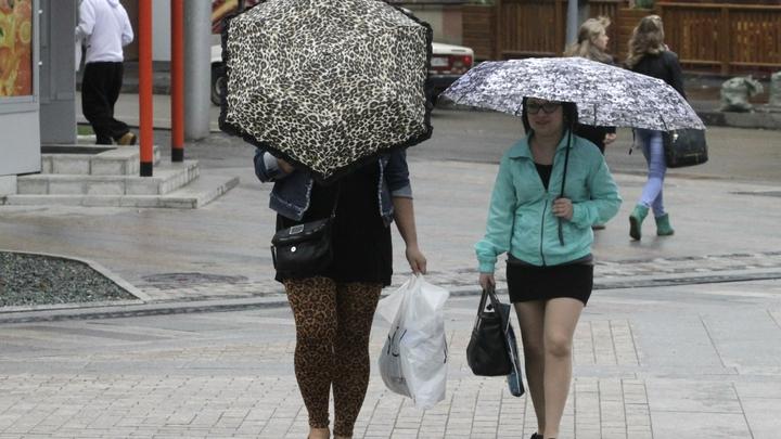Читинцев предупредили о надвигающейся грозе и дожде 27 июля