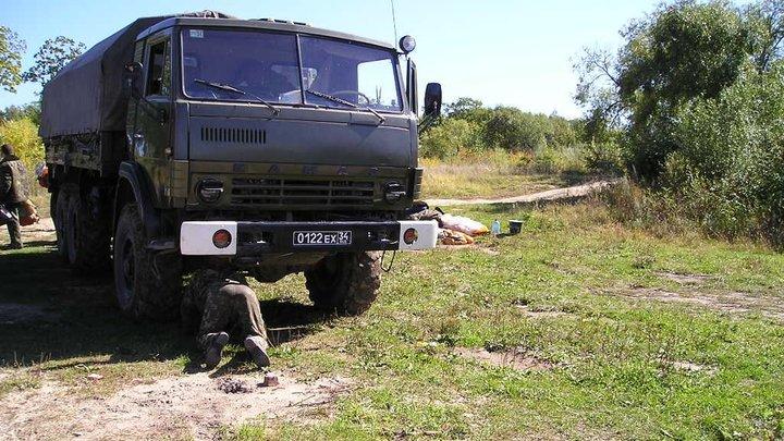 В Читинском районе КамАЗ сбил насмерть пешехода