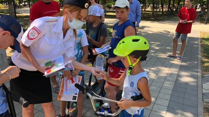 На Кубани стартовал Марафон детской дорожной безопасности