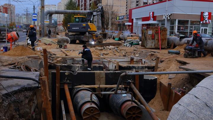 На Юго-Западе Екатеринбурга перекроют ради строительства теплосетей ещё две улицы