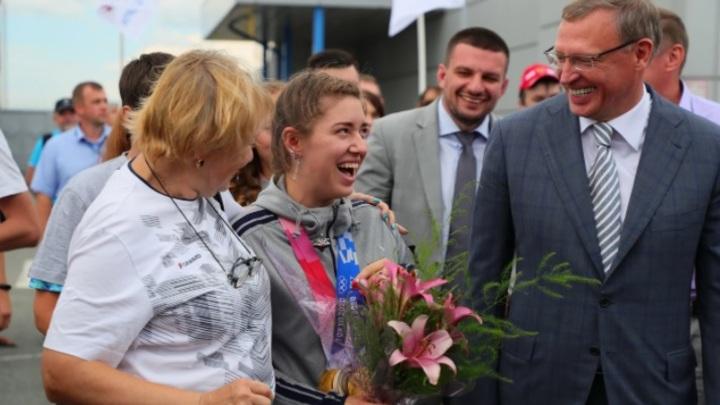 От Ведьмака к Евангелию: Нестандартная встреча и необычное пожелание русской олимпийской чемпионке