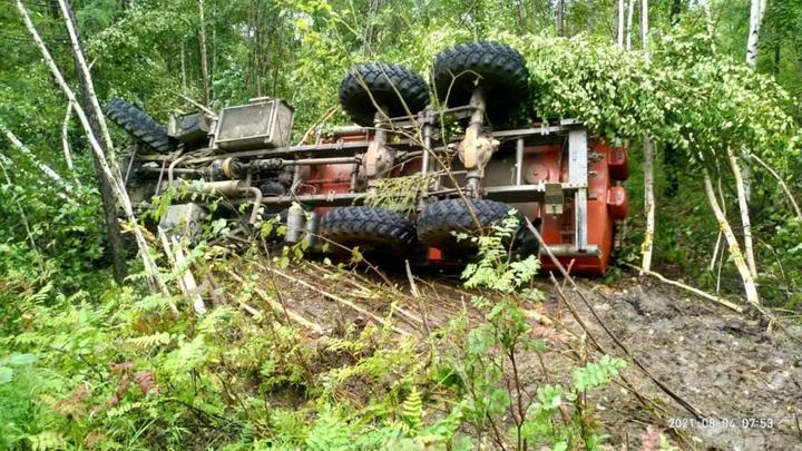Пьяный водитель Урала угробил насмерть своего пассажира под Могочей