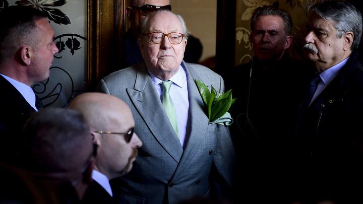 Отец Марин Ле Пен оштрафован на 11 тысяч евро за поддержку традиционных ценностей