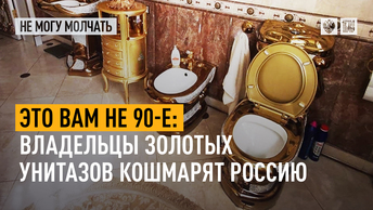 Это вам не 90-е: Владельцы золотых унитазов кошмарят Россию