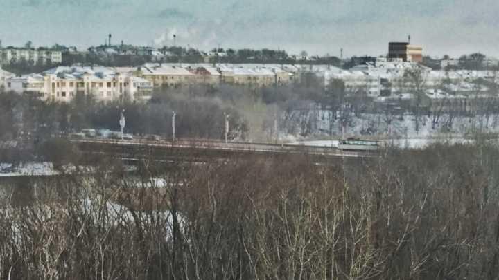В Челябинске дорожники начали ремонт Ленинградского моста
