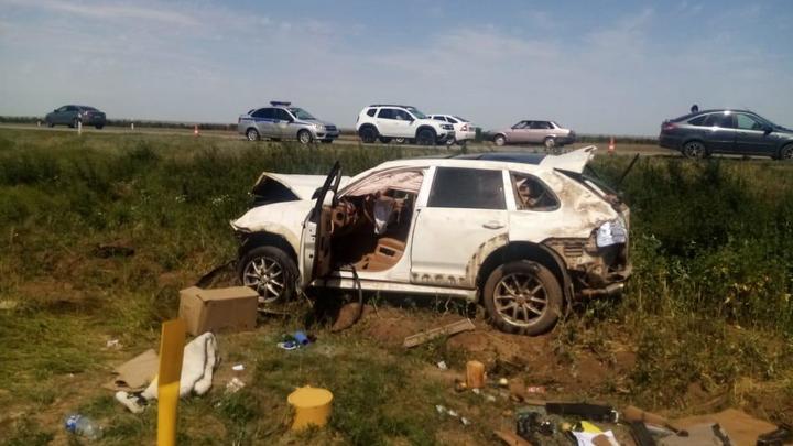 За утро в Ростовской области произошло два смертельных ДТП