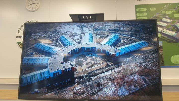 Возле новой инфекционной больницы под Челябинском построят еще три корпуса