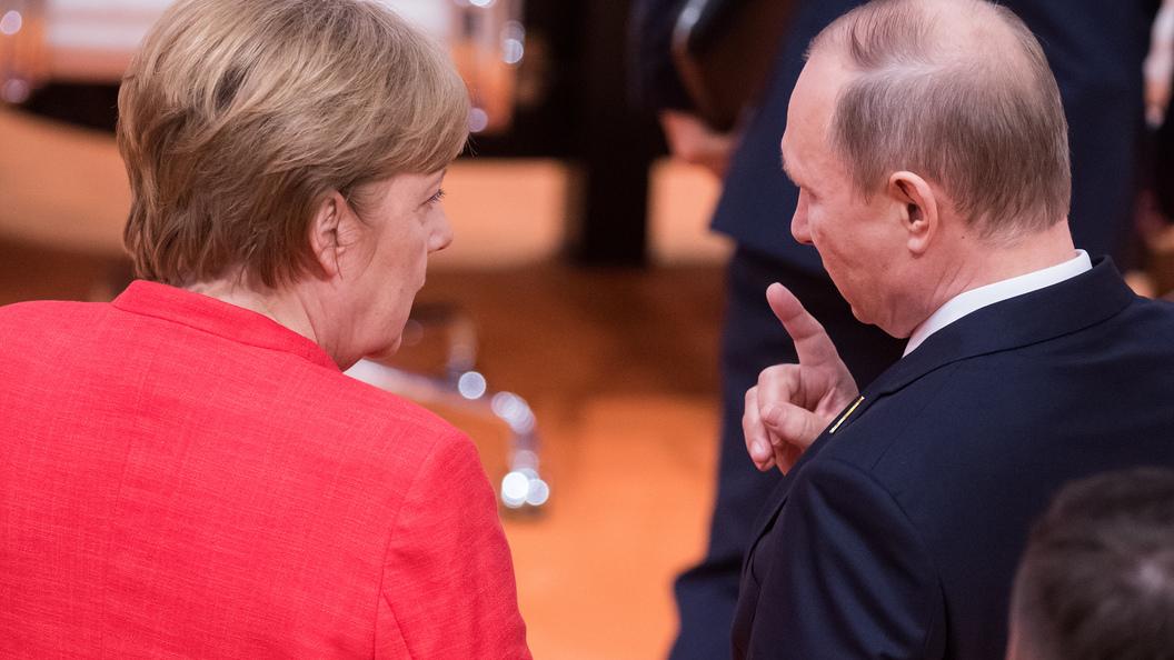 Меркель о встрече Путина и Трампа: Крайне приветствую