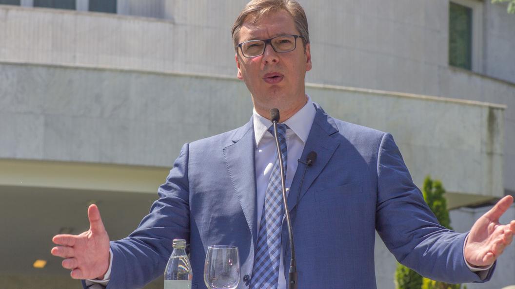 Вучич подсчитал, сколько Сербия заработает на транзите газа из России