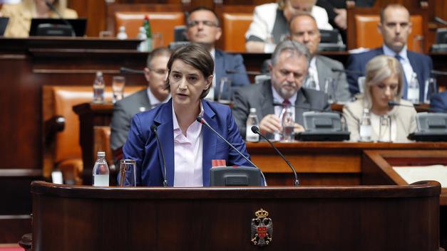 Ану Брнабич избрали на пост премьер-министра Сербии
