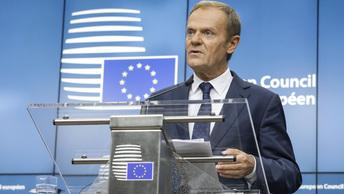 Туск не ждет прорыва от переговоров по Brexit в Брюсселе