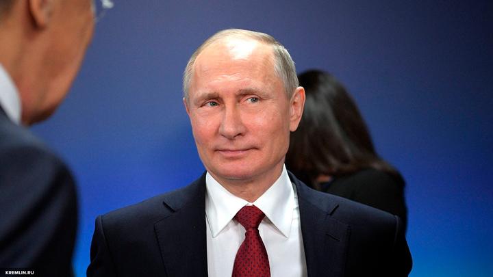 Путин выступил в Версале за свободный рынок без санкций и ограничений