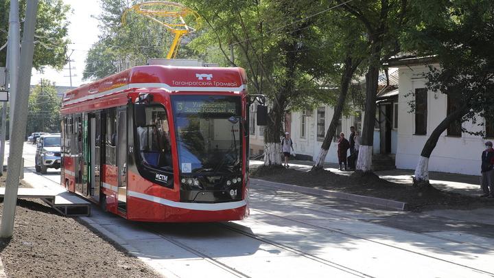 В Таганроге на линию вышли новые трамваи