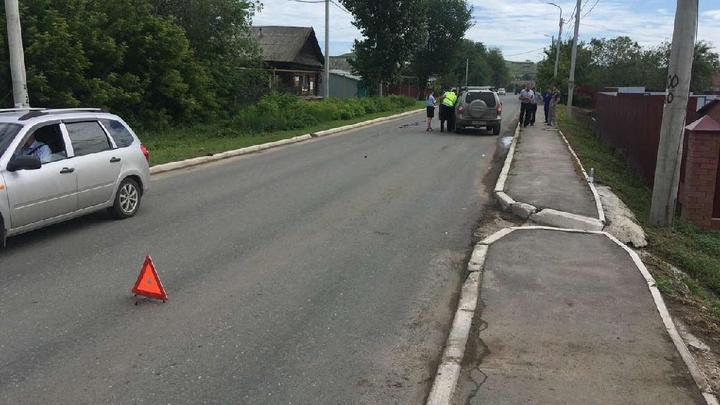 В Самарской области автомобиль сбил десятилетнюю девочку