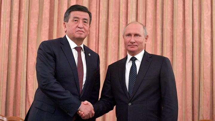 Президент Киргизии назвал русский язык духовным богатством общества