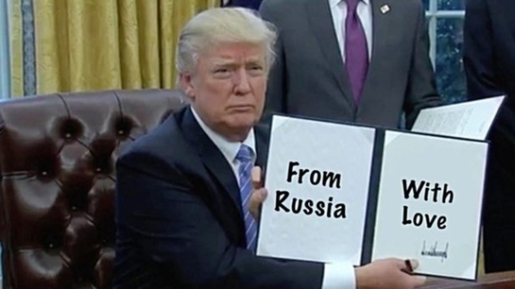 Пользователи сделали из Трампа детсадовского художника - ВИДЕО