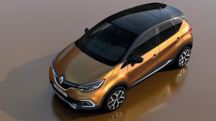 Renault представил фото освеженного дизайна кроссовера Captur
