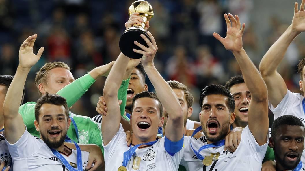 Дракслер назван самым ценным футболистом Кубка конфедераций