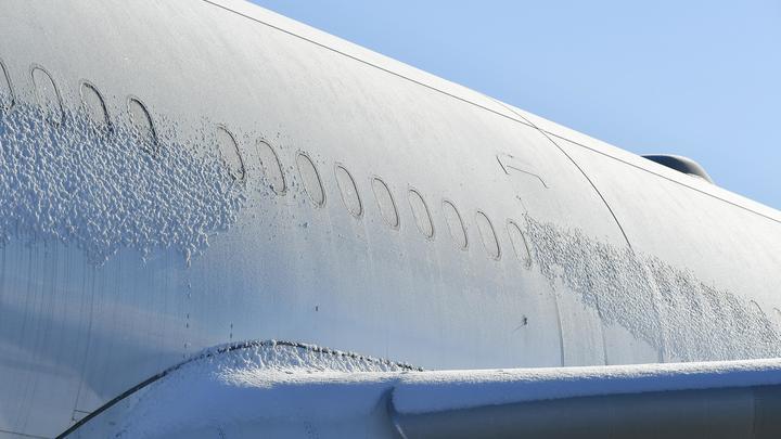 Airbus и Embraer не выдерживают российских морозов: На Урале из-за аномальных холодов отменяют авиарейсы