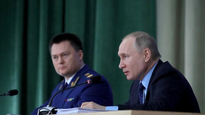 Владимир Путин вступился за члена списка Титова. Прокуратура должна провести проверку