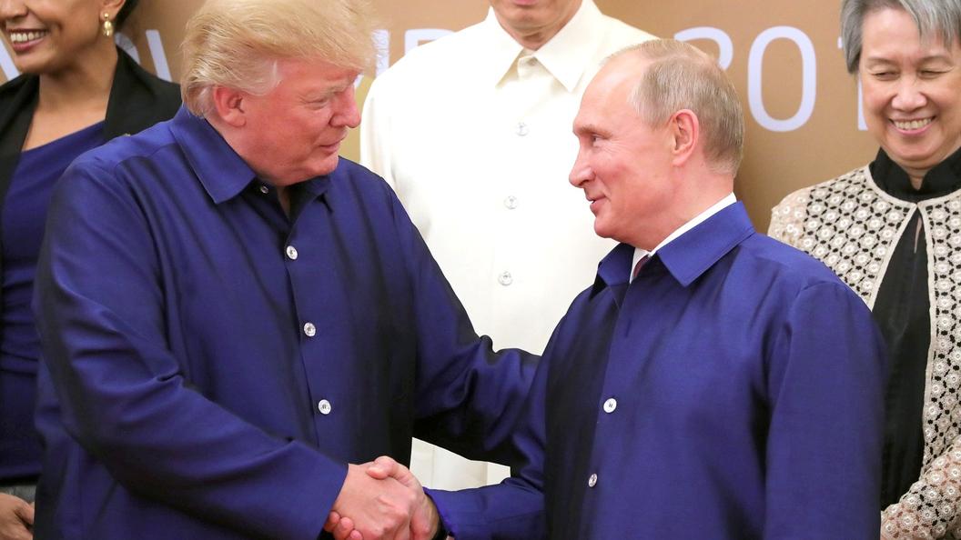 МИД назвал основную тема встречи В. Путина  иТрампа