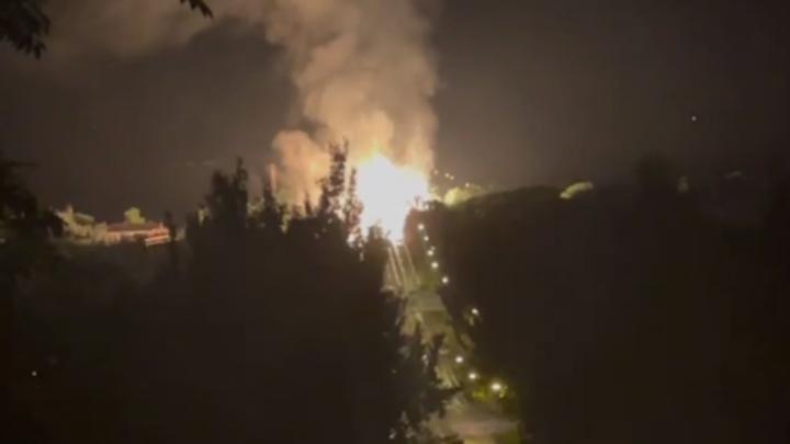 Помогли соседи? Ночью в ЛНР прогремел мощный взрыв