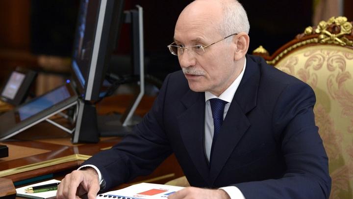 Глава Башкирии Рустэм Хамитов попросился у Путина в отставку