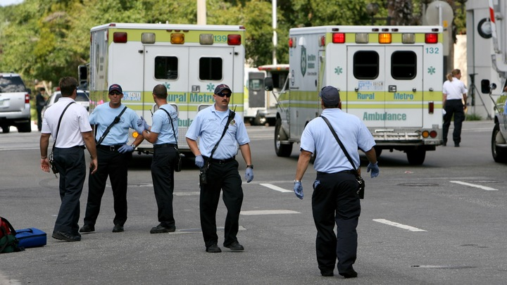 В США полицейские расстреляли безоружного - видео