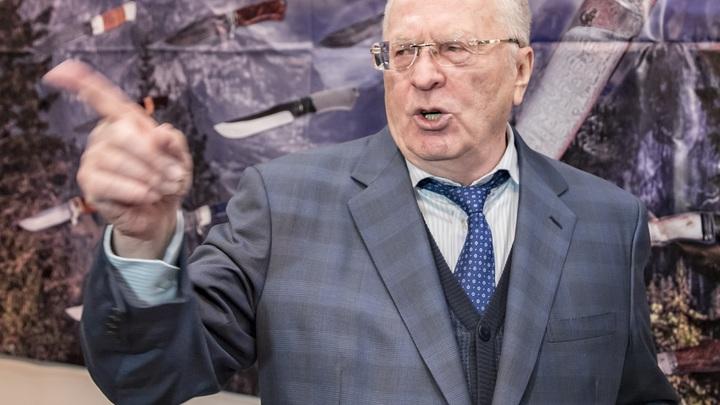 Испугались, однозначно: Жириновский оказался единственным, кто лично пришел на дебаты