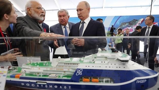 В мире такого никто не видел: Медведев напоследок оставил арктического «Лидера»
