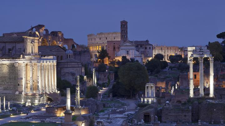 В руинах дворца Нерона в Риме спустя два тысячелетия нашли тайную комнату Сфинкса