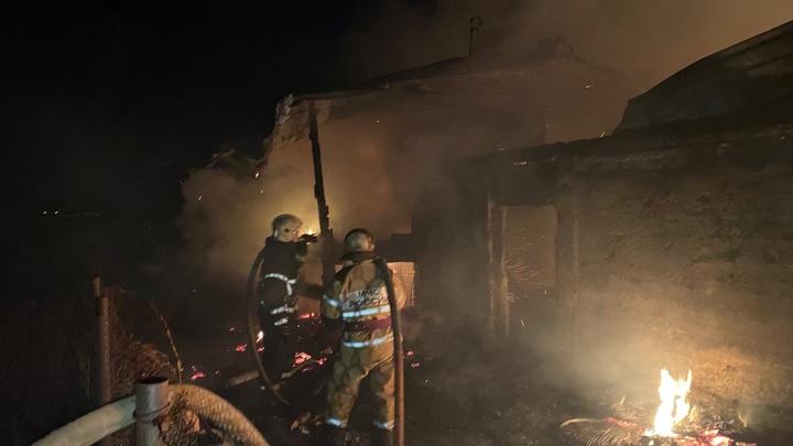В Вязниках на пожаре погиб человек