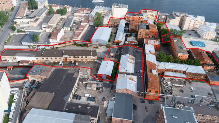 Почти 4 гектара завода «Ливиз» в центре Санкт-Петербурга продадут под застройку