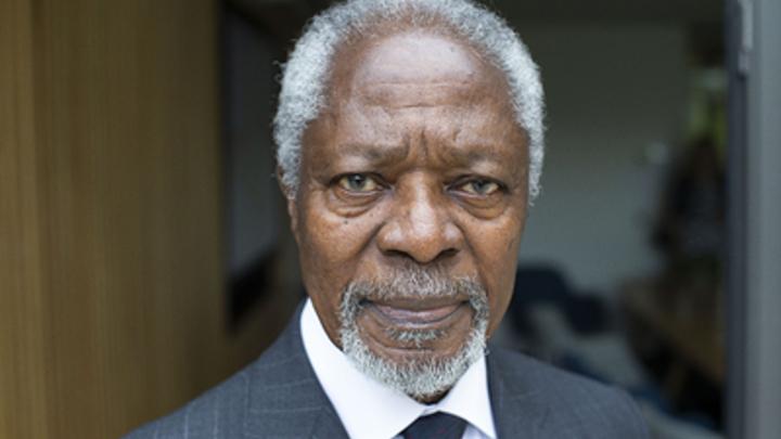Путин о Кофи Аннане: Искренне восхищался его мудростью и мужеством